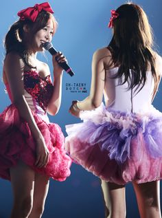 SNSD Tiffany and TaeYeon