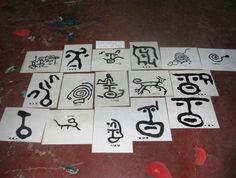Ideogramas o petroglifos  de Venezuela
