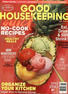 Fresh healthy meals. Gefunden in: GOOD HOUSEKEEPING / USA, Nr. 8/2015