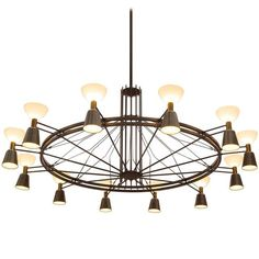 For Sale on - Chandelier, metal, glass The Netherlands, circa This large Dutch chandelier is part of the midcentury design collection. The chandelier is made in Mid Century Modern Chandelier, Industrial Chandelier, Italian Chandelier, Bronze Chandelier, Vintage Chandelier, Chandelier Pendant Lights, Cool Chandeliers, Wrought Iron Chandeliers, Square Chandelier