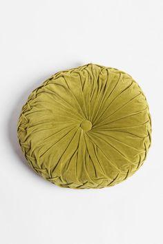 $34.00 Round Pintuck Pillow