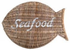 Sweet Living Rieten Placemat - Seafood