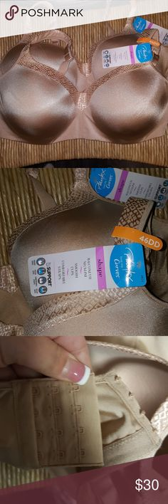 Plus Women's Bra Playtex Curves  balconette smooth cups   comfortable straps  designed with true support $30 each Sz 46DD Playtex Intimates & Sleepwear Bras
