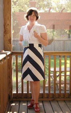 Colette Ginger skirt.