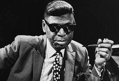 Piano shades: Earl 'Fatha' Hines (with pipe).