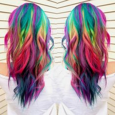 The rainbow hair trend isn't going anywhere. It's constantly changing and adapting – mainly because it's endlessly adaptable. No matter what the length, color, or texture of your hair is, there's a way for you to rock different hair colors in one look. It doesn't even matter which hues you like best, there are styles …