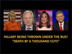 """Hillary Is Being Thrown Under The Bus! """"Death By A Thousand Cuts"""" Wikile......Published on Sep 9, 2016"""