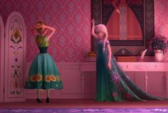 frozen, fever, elsa, anna, tumblr, let it go, disney, gif, kristoff, olaf, hans, the cold never bothered me anyway, making today a perfect day, song, short, sisters