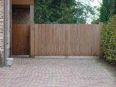 Hardhouten poorten – houten poort op maat uit Brabant - Solid Wood ProjectsPoort