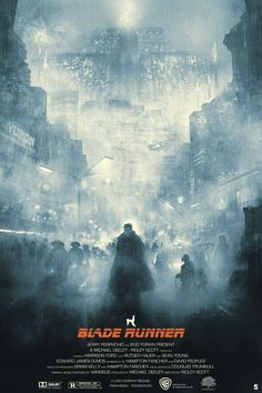 Blade Runner – Blue Rain by Karl Fitzgerald Mais