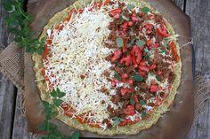 The Best Zucchini Recipe Ever - Zucchini Crust Pizza | myhumblekitchen.com