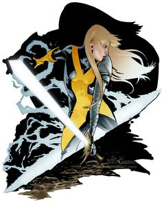 Magik by mcguan. via: http://comicbookartwork.tumblr.com/