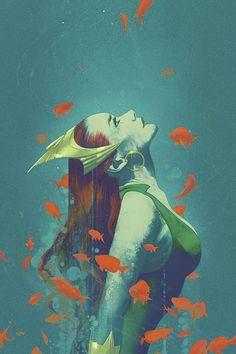 Mera by Joshua Middleton