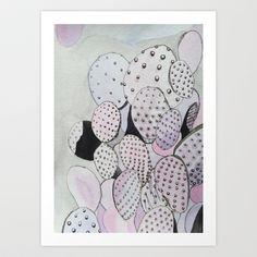 Cactus Sprawl Art Print by Michelle Erickson - $20.00