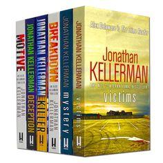 Jonathan Kellerman collection 6 books set