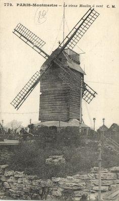 CPA Paris 18e (Dep. 75) Moulin de la Galette (73901) | eBay