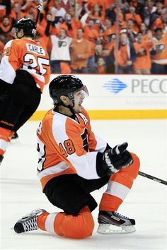 Danny Briere to be bought out. I'm beyond heartbroken. I can't even explain how upset I am about this. -Maddie M