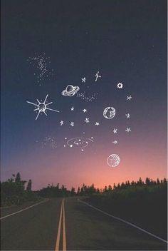 Resultado de imagen para tumblr fondo whatsapp planetas