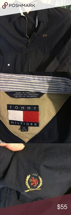 Vintage Tommy Hilfiger jacket Excellent condition, zipper works and no stains. Tommy Hilfiger Jackets & Coats Lightweight & Shirt Jackets
