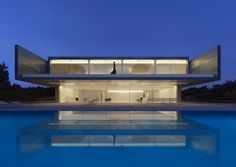 Aluminum House by Fran Silvestre Arquitectos #photo #composition #architecture