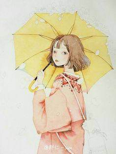 Art And Illustration, Illustrations Posters, Pretty Art, Cute Art, Anime Kunst, Anime Art, Painting & Drawing, Watercolor Paintings, Cover Wattpad