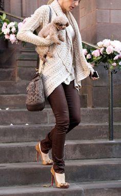camaïeu brun