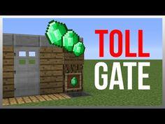 Minecraft 1.9: Redstone Tutorial - Toll Gate v2! - YouTube