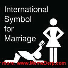 Derp Derpina Internet Meme's Collection: International Symbol For Marriage