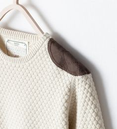 ZARA - KIDS - SWEATER WITH SHOULDER DETAIL