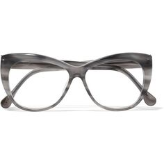 Elizabeth and James Clarence cat-eye acetate optical glasses ($180) ❤ liked on Polyvore featuring accessories, eyewear, eyeglasses, grey, elizabeth and james. eyeglasses, horn glasses, cateye eyeglasses, elizabeth and james and elizabeth and james eyewear