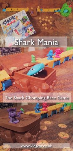 Review: Shark Mania – Shark Chomping Race Game