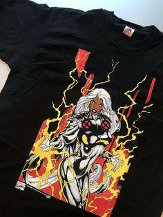 3b71469c3213 Details about Vintage NEW!! 90s X-MEN Wolverine Cyclops Marvel Comics promo  T-Shirt TOP Gildan