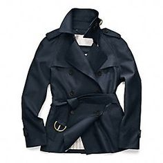 Classic Short Trench - Quierolo...