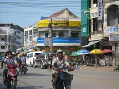 My home town Battambang in Cambodia