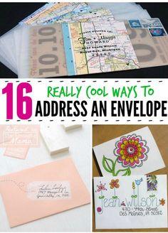 Fun Ways To Address Envelope!! #Various #Trusper #Tip