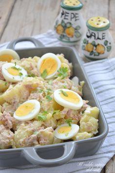 Insalata di patate tonnate con uova sode - Blog di Il caldo sapore del sud