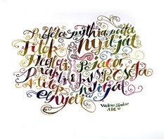 Poems in Calligraphy #calligrpahy #typography #door