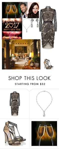 """Hosting a New Year's Eve Party at Sandringham House"" by new-generation-1999 ❤ liked on Polyvore featuring Alexander McQueen"