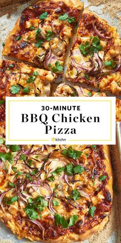 How to Make Easy Homemade BBQ Chicken Pizza. Need recipes and ideas for pizza di… Sponsored Sponsored How to Make Easy Homemade BBQ Chicken Pizza. Need recipes and ideas for pizza dinners and meals at home? Bbq Chicken Pizza, Chicken Pizza Recipes, Bbq Chicken Flatbread, Leftover Bbq Chicken Recipes, Barbecue Pizza, Flatbread Pizza Recipes, Pulled Pork Pizza, Grilled Pizza Recipes, Buffalo Chicken Pizza
