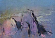 """""""Rocks Vignette"""" - Original Fine Art for Sale - © Casey Klahn"""