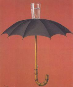 """De ese arte que me encanta... Magritte. Hay días que se parecen a las """"Vacaciones de Hegel"""" paradox"""