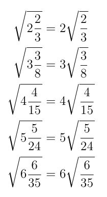 This means that there is an infinite family of solutions of the form: Mathematics Geometry, Physics And Mathematics, Symmetry Math, Math Formula Chart, Cool Math Tricks, Math Tutorials, Math Charts, Math Notes, Math Questions