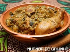 Traditional Muamba de Galinha - The national dish of Angola...
