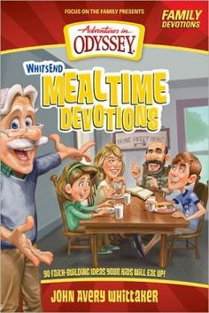 You make sure your children get the proper food they need to grow physically. But are you providing a healthy spiritual diet to grow their hearts for God and others? Now you can give them both with these family devotions for mealtime dished up by John Avery Whittaker, Adventures in Odyssey's friendly mentor.