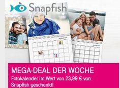 """Telekom-Megadeal: Fotokalender für 4,99 Euro frei Haus https://www.discountfan.de/artikel/technik_und_haushalt/telekom-megadeal-fotokalender-fuer-4-99-euro-frei-haus.php Telekom-Kunden können sich ab sofort einen selbst gestalteten Fotokalender von Snapfisch zum """"Nulltarif"""" sichern. Allerdings fallen Versandkosten von 4,99 Euro an. Unschlagbar ist die Offerte nicht, wie Discountfan-Recherchen ergaben. Telekom-Megadeal: Fotokalender für 4,99 Euro frei ... #Fo"""