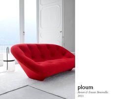 Ploum, by Ronan & Erwan Bouroullec ligneroset http://decdesignecasa.blogspot.it/