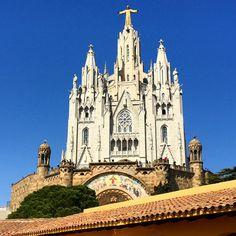 Basílica Del Sagrat Cor De Jesús Del Tibidabo  #barcelona