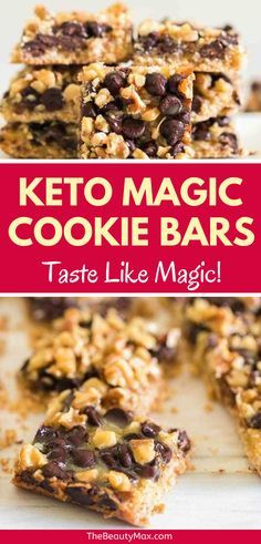 The ONLY Keto Cookie Recipes You Need! You have to taste them to believe them! These are the BEST keto cookie recipes — 20 easy keto cookies that are a must-try for anyone on a ketogenic diet! Keto Snacks, Healthy Desserts, Snack Recipes, Dessert Recipes, Low Carb Deserts, Low Carb Sweets, Low Carb Keto, Low Carb Recipes, Keto Chocolate Chips
