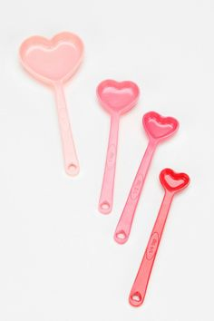 Heart Measuring Spoon - Set Of 4