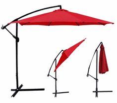 New 10 Patio Umbrella Offset Hanging Umbrella Outdoor Market Umbrella Rectangular Patio Umbrella, Large Patio Umbrellas, Pool Umbrellas, Offset Patio Umbrella, Parasols, Outdoor Umbrella, Teak Outdoor Furniture, Outdoor Dining Set, Outdoor Living
